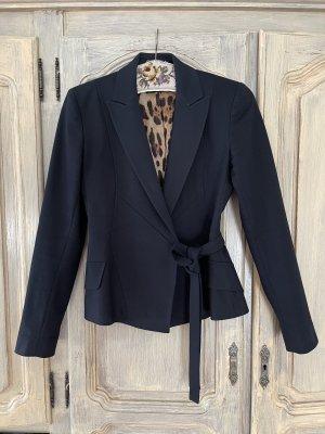 Dolce & Gabbana Klassischer Blazer zwart