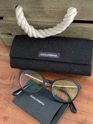 D&G Dolce & Gabbana Brillengestell schwarz