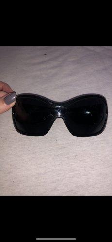 D&G Dolce & Gabbana Sonnenbrille schwarz oversize