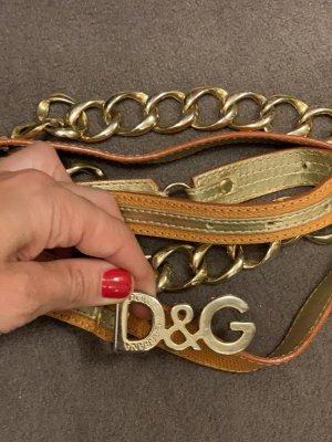 D&G Cinturón de cadera multicolor