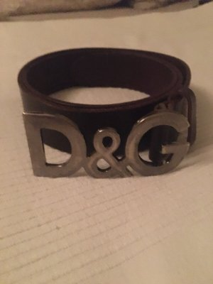 D&G Gürtel, Silber Schnalle 95 cm