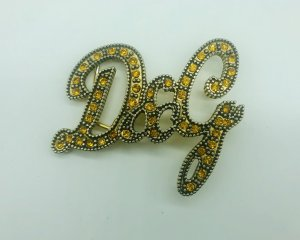 Dolce & Gabbana Hebilla del cinturón color oro-color bronce