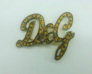 Dolce & Gabbana Boucle de ceinture doré-bronze