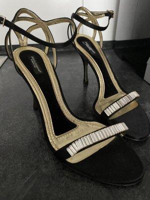 D&G Sandały z rzemykami czarny