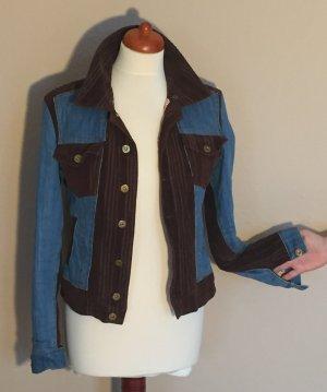 Dolce & Gabbana Denim Jacket blue-brown cotton