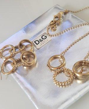 Dolce & Gabbana Orecchino a pendente oro