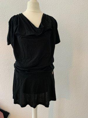 Dolce & Gabbana Vestido estilo camisa negro