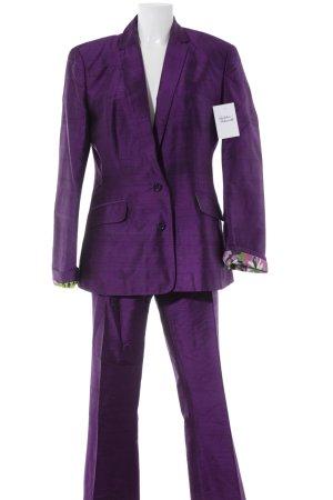Dolce & Gabbana Kostüm dunkelviolett Elegant