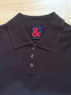 D&G Kurzarm Pullover braun Gr S
