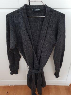 Dolce & Gabbana Cardigan dark grey