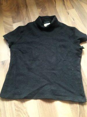Dolce & Gabbana Maglione di lana nero Tessuto misto