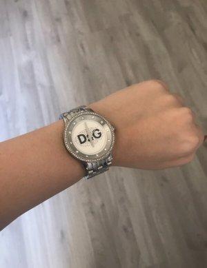 Dolce & Gabbana Montre avec bracelet métallique argenté