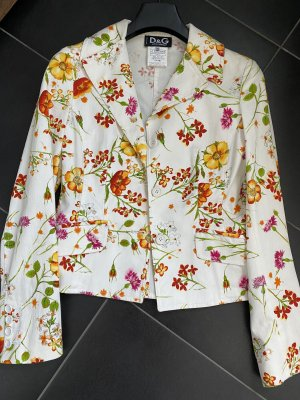 Dolce & Gabbana Blazer court multicolore