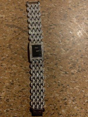 Dolce & Gabbana Reloj con pulsera metálica color plata