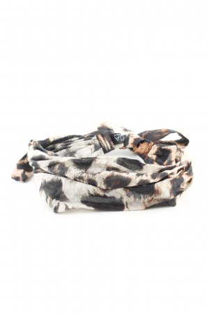 D/LUCA Ribbon black-natural white allover print casual look
