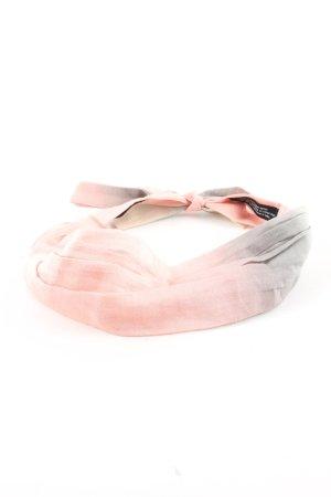 D/LUCA Ribbon pink-light grey color gradient casual look