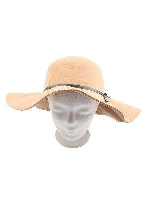 D&Y Sombrero de fieltro nude look casual