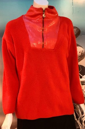 Oversized Sweater red