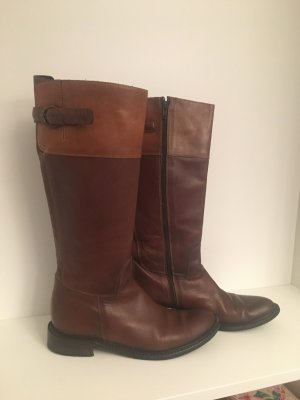 Bartu Jackboots cognac-coloured