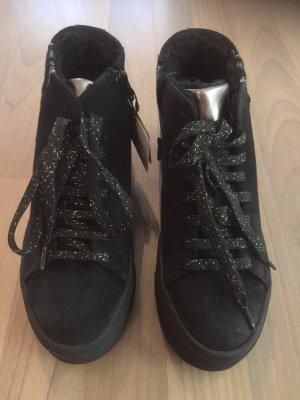 Tamaris Botas de nieve negro