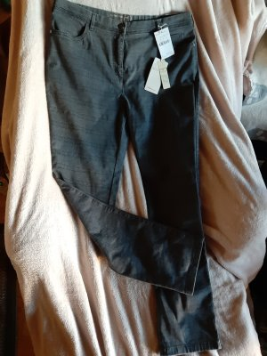 Relaxed by TONI Pantalon cinq poches gris
