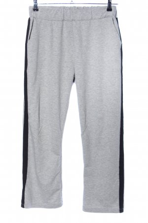 Sweat Pants light grey-black flecked casual look