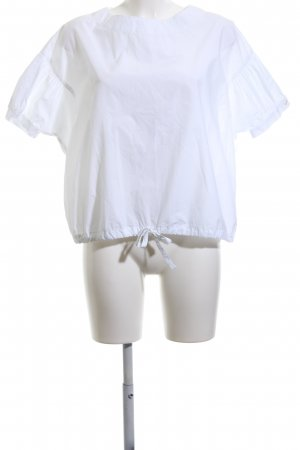 Daddy's Daughters Kurzarm-Bluse weiß Casual-Look