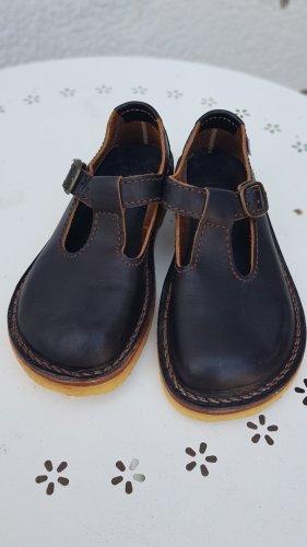 Zapatos Mary Jane marrón Cuero