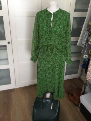 Dänische trendlabel pigalle Kleid 38 40 neu grün gemustert