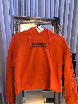 Dagi Bee Hooded Sweater neon orange