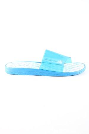 Dahlia Sabots blau-weiß Casual-Look