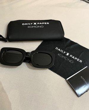 Daily Paper Gafas de sol cuadradas negro