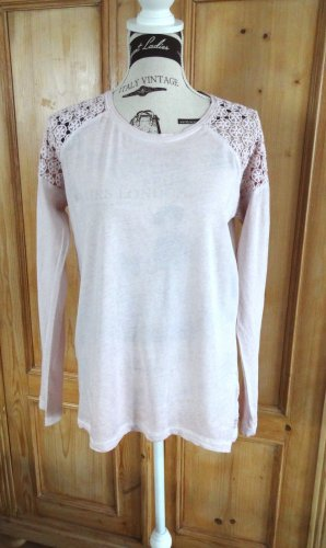 Daily's - Fair Fashion - Organic - Longsleeve mit Spitze