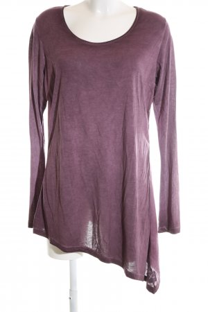 Daily's Long Sleeve Blouse lilac flecked casual look