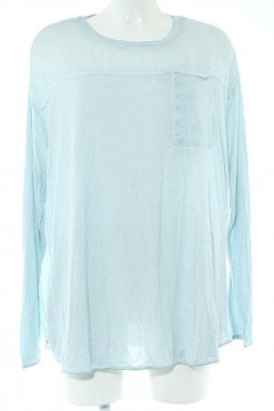 Daily's Long Sleeve Blouse turquoise casual look