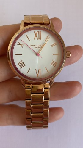 Daisy London Watch With Metal Strap multicolored metal