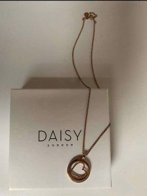 Daisy London Halskette rosegold mit Herz