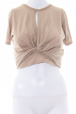 Daisy Street Cropped Top creme Casual-Look