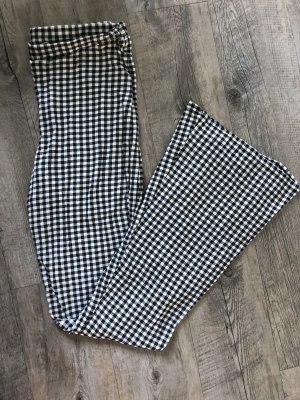 Daisy Street Pantalone a zampa d'elefante nero-bianco