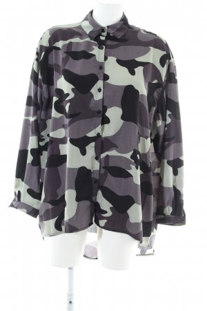 Daisy Street Long-Bluse Camouflagemuster Casual-Look