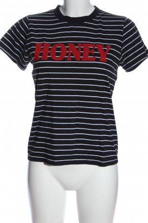 Daisy Street Print Shirt printed lettering casual look