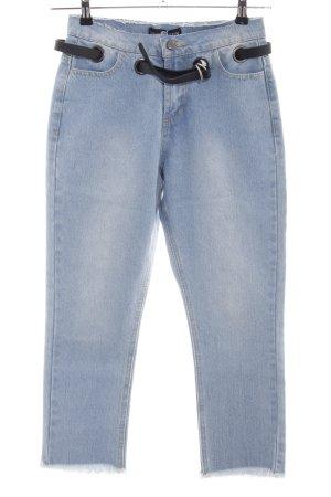 Daisy Street Straight-Leg Jeans blau Casual-Look