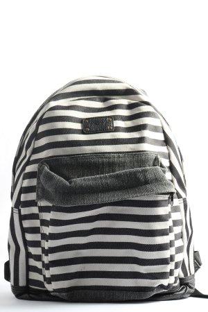 Dakine Plecak do przedszkola czarny-biały Wzór w paski W stylu casual