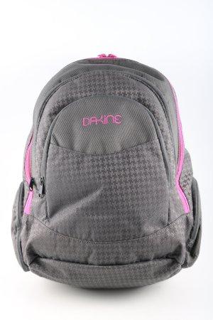 Dakine Notebookrucksack hellgrau-pink grafisches Muster sportlicher Stil