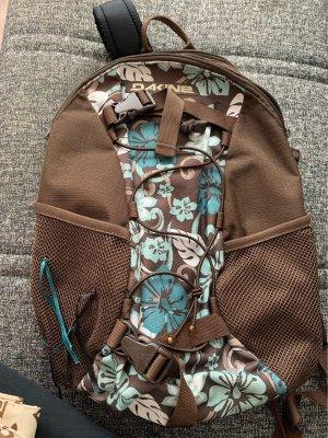 Dakine Carrito de mochila marrón-azul cadete