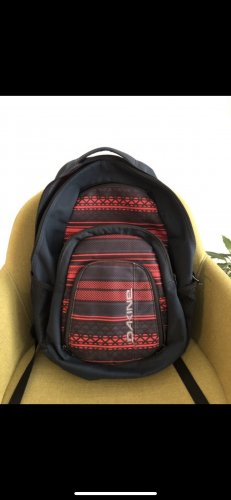Dakine School Backpack dark red-dark blue
