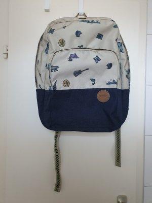 Dakine Plecak szkolny jasnobeżowy-ciemnoniebieski
