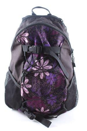 Dakine Zaino per la scuola marrone-lilla motivo floreale stile casual