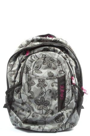 Dakine School Backpack light grey-black allover print casual look