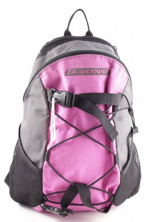Dakine Schulrucksack hellgrau-pink Casual-Look
